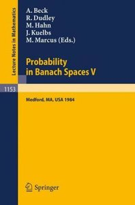 Probability in Banach Spaces V