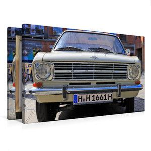 Premium Textil-Leinwand 75 cm x 50 cm quer Opel Kadett