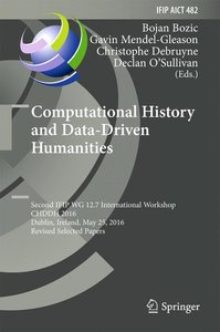 Computational History and Data-Driven Humanities