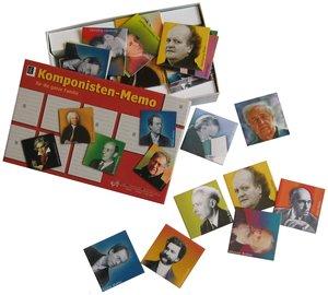 UE Komponisten-Memo für die ganze Familie (Spiel)