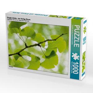 Gingko biloba - der Heilige Baum 1000 Teile Puzzle quer