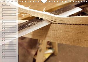 Altes Handwerk: Bogenbau (Wandkalender 2019 DIN A4 quer)