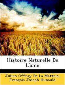 Histoire Naturelle De L'ame