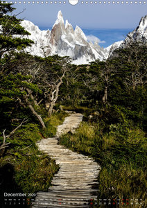 Majestic Mountains Cerro Torre & Fitzroy Patagonia / UK-Version