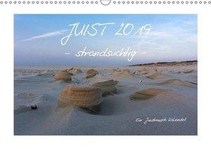 JUIST 2019 - strandsüchtig - (Wandkalender 2019 DIN A3 quer)