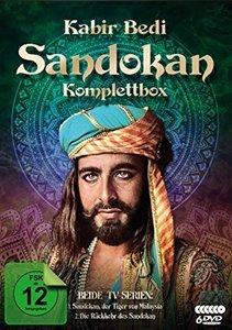 Sandokan - Komplettbox (Der Tiger von Malaysia & Die Rückkehr de