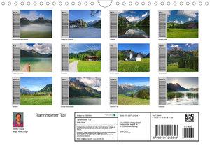Tannheimer Tal (Wandkalender 2020 DIN A4 quer)