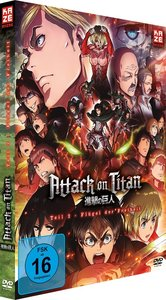 Attack on Titan - Anime Movie Teil 2: Flügel der Freiheit - DVD