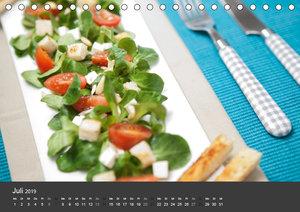 Food - Genuss aus der Küche (Tischkalender 2019 DIN A5 quer)