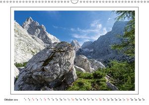 Rund um den Watzmann (Wandkalender 2019 DIN A3 quer)
