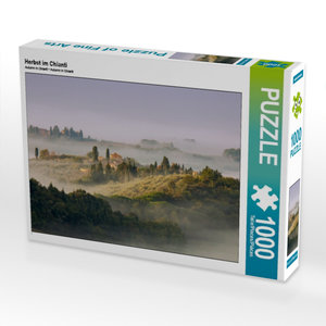 Herbst im Chianti 1000 Teile Puzzle quer