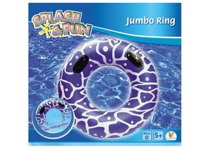 Splash & Fun Schwimmring mit Griffen Ø 80 cm
