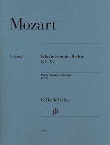 Klaviersonate B-Dur KV 281