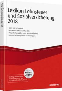 Lexikon Lohnsteuer und Sozialversicherung 2018 plus Onlinezugang