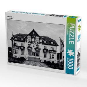 Rathaus 1000 Teile Puzzle quer