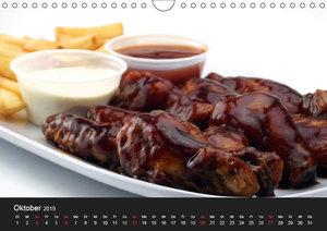 BBQ Lecker Grillen (Wandkalender 2019 DIN A4 quer)