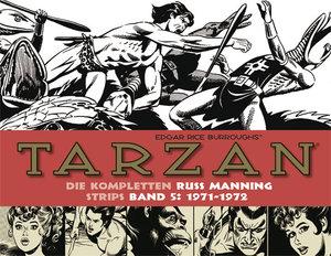 Tarzan: Die kompletten Russ Manning Strips / Band 5 1971 - 1972