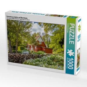 Ferienhaus-Idylle auf Bornholm 1000 Teile Puzzle quer