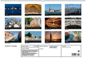 Urlaub in Venedig (Wandkalender 2019 DIN A2 quer)