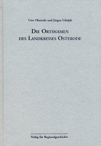 Niedersächsisches Ortsnamenbuch Teil 02. Die Ortsnamen des Landk