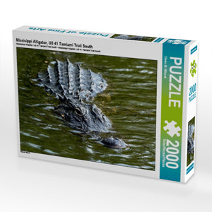 Missisippi Alligator, US 41 Tamiami Trail South 2000 Teile Puzzl