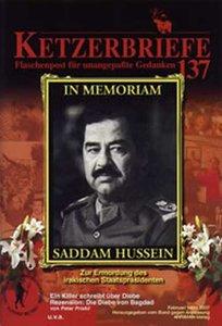 In Momoriam Saddam Hussein
