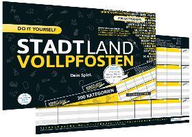 Denkriesen DEN09011 - Stadt Land Vollpfosten®, do it yourself Ed - zum Schließen ins Bild klicken