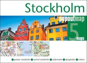 Stockholm Popout Map Double