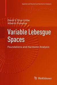 Variable Lebesgue Spaces