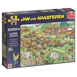 Jan van Haasteren - Rasenmäherrennen - 2000 Teile