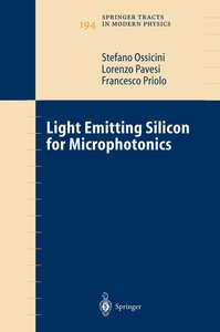 Light Emitting Silicon for Microphotonics