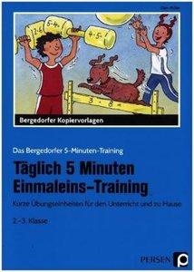 Täglich 5 Minuten Einmaleins-Training