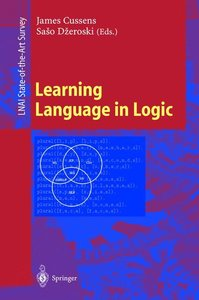 Learning Language in Logic