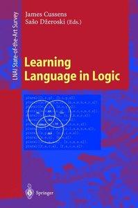 Learning Language in Logic