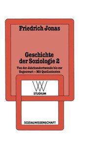 Geschichte der Soziologie 2