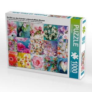 Ein Bild aus dem Kalender Leidenschaftliche Blumen 1000 Teile Pu