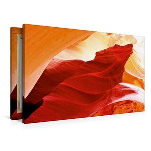 Premium Textil-Leinwand 90 cm x 60 cm quer Der Wolf vom Antelope