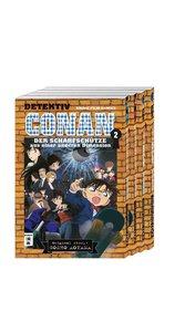 Detektiv Conan - Anime-Comics - Komplettpaket