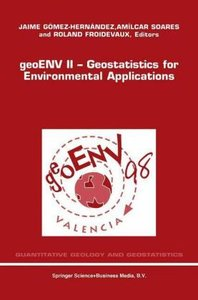geoENV II - Geostatistics for Environmental Applications