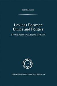 Levinas between Ethics and Politics