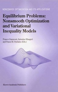 Equilibrium Problems: Nonsmooth Optimization and Variational Ine