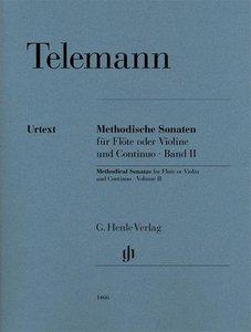 Methodische Sonaten für Flöte oder Violine und Bc Bd. II