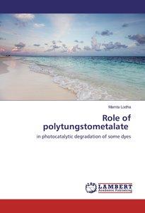 Role of polytungstometalate