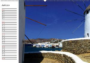 MYKONOS - Insel der Winde (Wandkalender 2019 DIN A2 quer)
