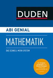 Abi genial Mathematik. Das Schnell-Merk-System (SMS). Buch mit O