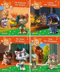 Nelson Mini-Bücher: 4er 44 Cats 1-4