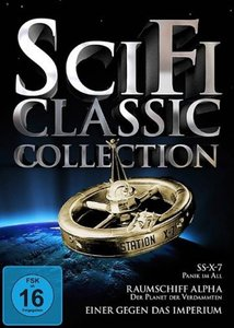 Science Fiction Classic-Collection, 3 DVDs