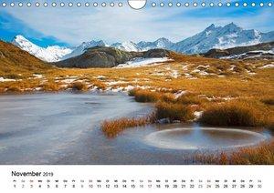BERGSEEN Schweizer Alpen (Wandkalender 2019 DIN A4 quer)