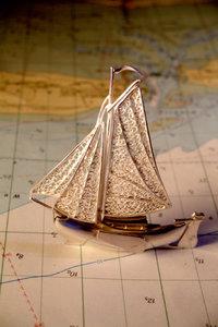 Premium Textil-Leinwand 30 cm x 45 cm hoch ...auf großer Fahrt..