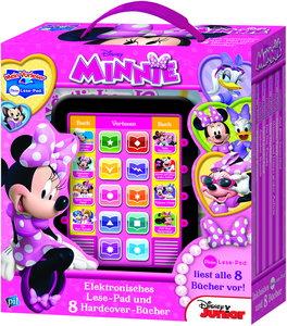 Mein Lese-Pad Disney Minnie: Elektronisches Lesebad und 8 Hardco